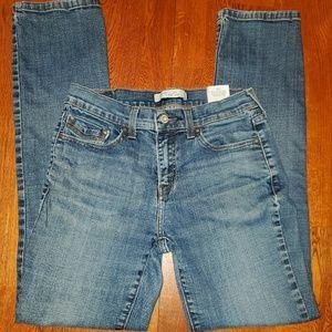 Levi's 505, straight leg, size 4M jeans.